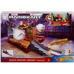 Mattel Hot Wheels Mario Kart Buu Huus Horror Trackset