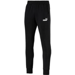 Puma Tapered Fleece Pants Men - Black/White