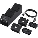 Sparkfox Xbox Series X/S Dual Charging Station - Black