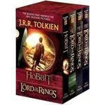 The hobbit and the lord of the rings Books The Hobbit and the Lord of the Rings Set: The Hobbit, the Fellowship of the Ring, the Two Towers, the Return of the King