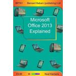 Office 2013 Books Microsoft Office 2013 Explained