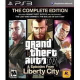 PlayStation 3 Games Grand Theft Auto IV: The Complete Edition