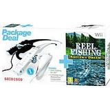 Nintendo Wii Games Reel Fishing: Angler's Dream (Incl. Fishing Rod)