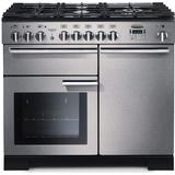 Cookers Rangemaster Professional Deluxe 100 Dual Fuel Stainless Steel