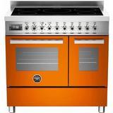 Induction Cooker Bertazzoni PRO90 5I MFE D AR T Yellow, Black, White, Red, Orange