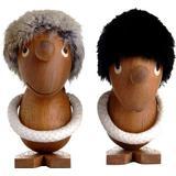 Figurines Architectmade Optimist & Pessimist Figurine