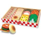 Food Toys Melissa & Doug Wooden Sandwich Making Set