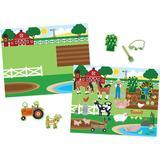 Crafts Melissa & Doug Reusable Sticker Pad Habitats