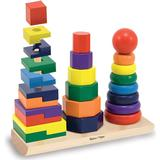 Stacking Toys Melissa & Doug Geometric Stacker