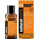 Hair Oils on sale Natural World Brazilian Keratin Hair Treatment Oil 100ml