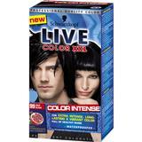 Permanent Hair Colour Schwarzkopf Live Color XXL #99 Deep Black