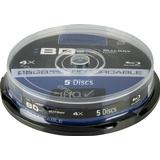 Intenso BD-R 25GB 4x Spindle 5-Pack