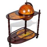 Liquor Cabinets vidaXL Globe Bar 99cm Liquor Cabinet