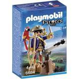 Playmobil pirate Play Set Playmobil Pirate Captain 6684