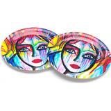 Coasters Carolina Gynning Slice of Life Coaster 10 cm 4 pcs