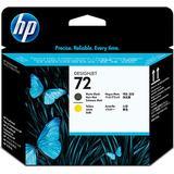 HP 72 Printhead(Matte Black/Yellow)