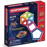Magformers Rainbow 62pc Set