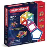 Construction Kit Magformers Rainbow 62pc Set
