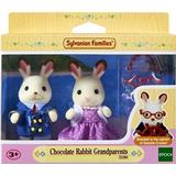 Soft Toys Sylvanian Families Chocolate Rabbit Grandparents