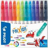 Pilot Frixion Colors Erasable Marker 12-pack