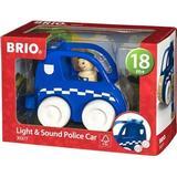 Cars BRIO Light & Sound Police Car 30377