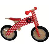 Balance Bicycles Kiddimoto Kurve Red Dotty