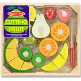 Food Toys Melissa & Doug Cutting Fruit Set Wooden Play Food