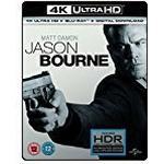 Jason Bourne (4K UHD Blu-ray + Blu-ray + Digital Download) [2016]