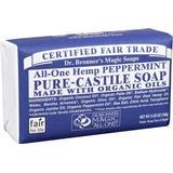 Bar Soaps Dr. Bronners Pure Castile Bar Soap Peppermint 140g