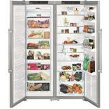 Freestanding Fridge-freezer Freestanding Fridge-freezer price comparison Liebherr SBSef 7242 Comfort NoFrost Silver
