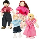 Dollhouse dolls price comparison Le Toy Van My Family of 4