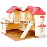 Doll House price comparison Sylvanian Families City House with Lights