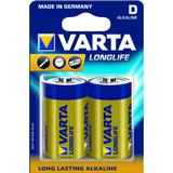 D (LR20) Batteries and Chargers price comparison Varta Longlife D 2stk