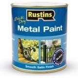 Metal Paint price comparison Rustins Quick Dry Metal Paint Black 0.5L