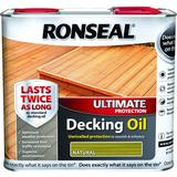 Oil price comparison Ronseal Ultimate Protection Decking Oil Brown 2.5L