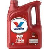 Oil & Chemicals price comparison Valvoline MaxLife Synthetic 5W-40 4L Motor Oil