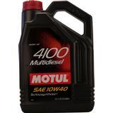 Oil & Chemicals price comparison Motul 4100 Multidiesel 10W-40 5L Motor Oil