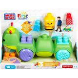 Blocks - Pull Toy Baby Toys price comparison Mega Bloks First Builders Move 'N Groove Caterpillar