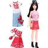 Fashion Dolls Fashion Dolls price comparison Mattel Barbie Fashionistas 40 Pizza Pizzazz & Fashions Petite Doll