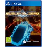 Roguelike PlayStation 4 Games price comparison Sublevel Zero: Redux