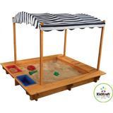 Sand Box Sand Box price comparison Kidkraft Outdoor Sandbox with Canopy