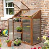 Mini Greenhouses price comparison Rowlinson Hardwood Mini Wood+Poly Wood Polycarbonate