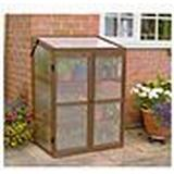Mini Greenhouses price comparison Gardman Wooden Mini Growhouse Wood Glass, Hardened Glass