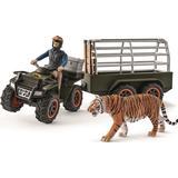 Toys Schleich Quad Bike with Trailer & Ranger 42351