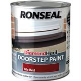 Concrete Paint price comparison Ronseal Diamond Hard Doorstep Concrete Paint Red 0.25L