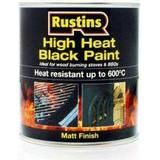 Metal Paint price comparison Rustins High Heat Metal Paint Black 0.5L