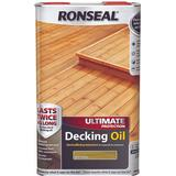 Oil price comparison Ronseal Ultimate Protection Decking Oil Green 5L