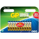 AAA (LR03) Batteries and Chargers price comparison GP Batteries Ultra Plus Alkaline AAA Compatible 10-pack