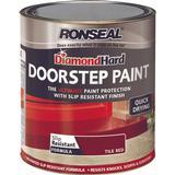 Concrete Paint price comparison Ronseal Diamond Hard DoorStep Concrete Paint Red 0.75L