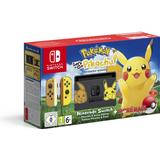 Nintendo Switch Game Consoles Deals Nintendo Switch - Yellow - Pokémon: Let's Go, Pikachu